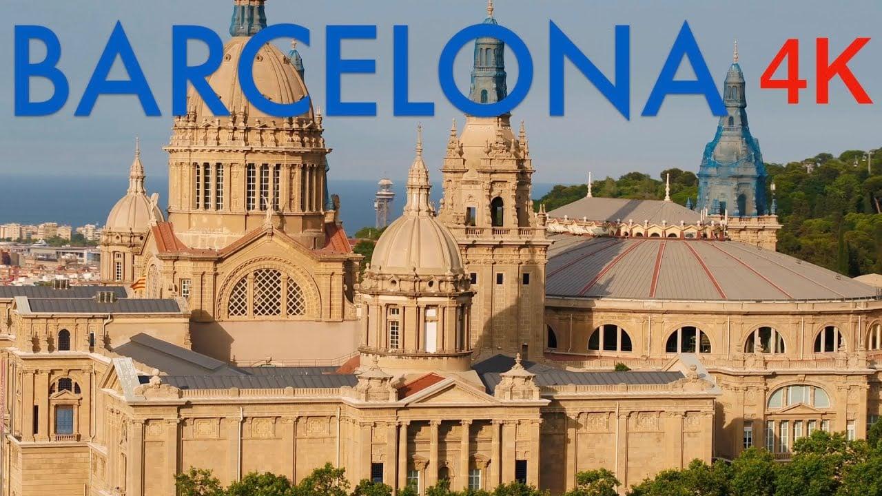 Barcelona 4K Drone Footage | Ultra HD Bird's Eye View Cinematic Am...
