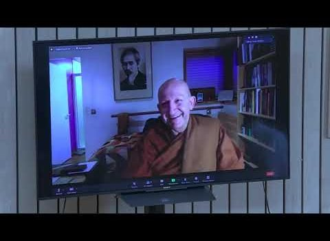 Happy to Stay. Ready to Go.   Ajahn Amaro - 25th Anniversary Day 3