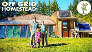 Homesteading Family Living Off-Grid in a Spectacular Earthship