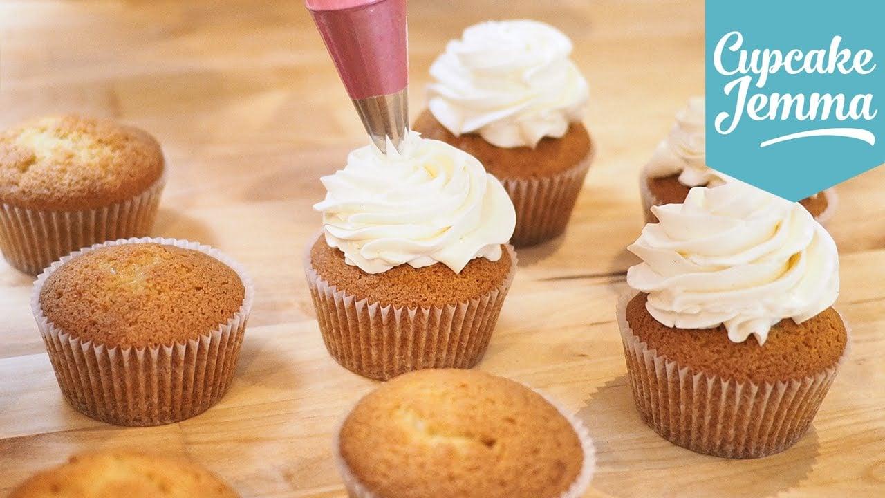 Swiss Meringue Buttercream Masterclass   Cupcake Jemma