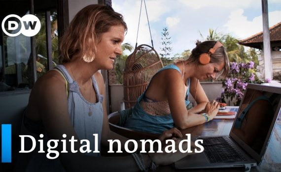 Working online and traveling the world - digital nomads | DW Documenta...
