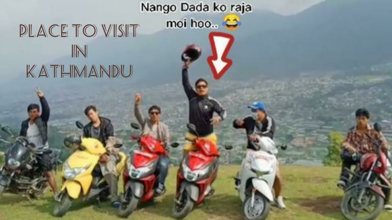 place to visit in kathmandu//indrathan\nango dada with homies brother...