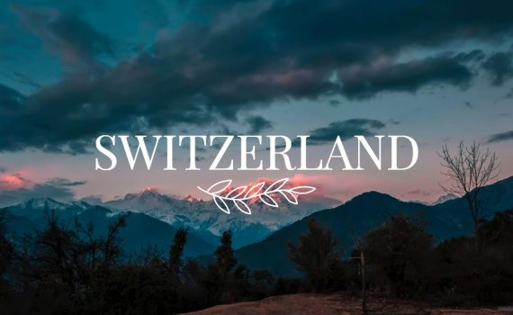 ► 4K World Scenic Beauty Takes You On A Quick Tour To SWITZERLAND