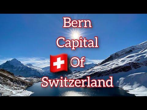🇨🇭Bern wonderful capital city of Switzerland in 4K