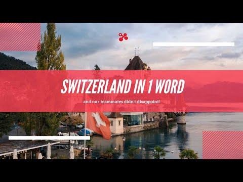 Switzerland in 1 Word?