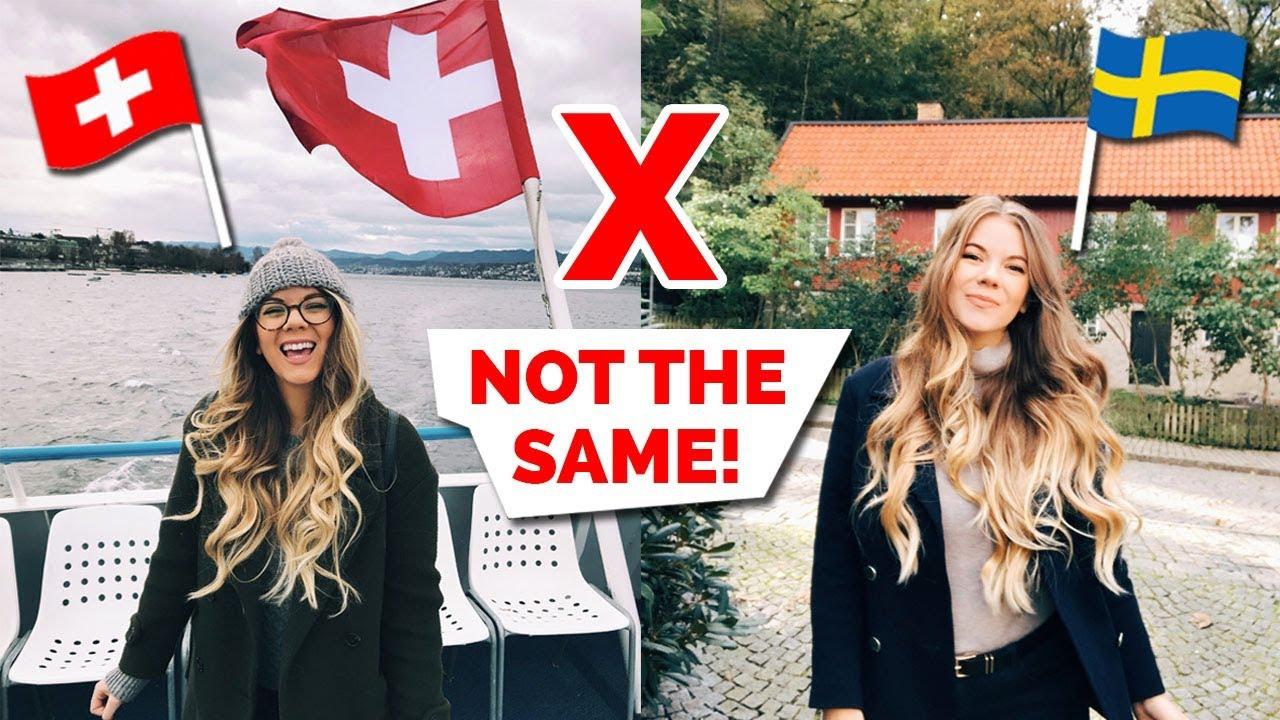 Switzerland vs. Sweden | 8 Major Differences