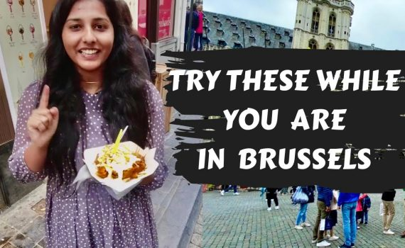ULTIMATE FOOD TOUR in Brussels | Belgium Food Tour | Malayalam Food Vl...