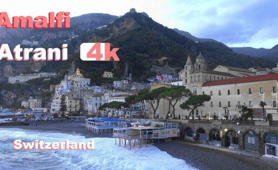 4K - SWITZERLAND - ITALY - ATRANI - AMALFI - Zermatt - Murren - Lauter...