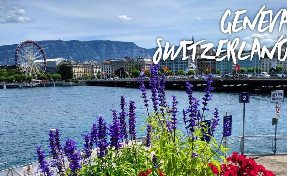 Geneva Switzerland🇨🇭City Tour   197 Countries, 3 Kids