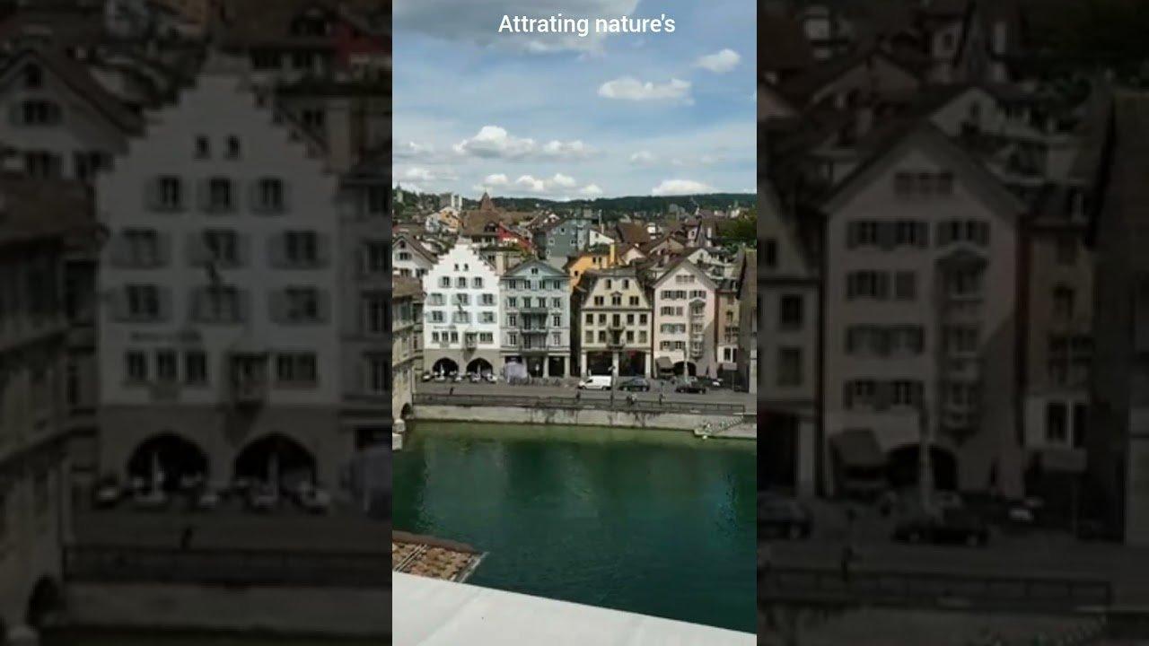 Switzerland beautiful city whatsapp status /attrating nature's