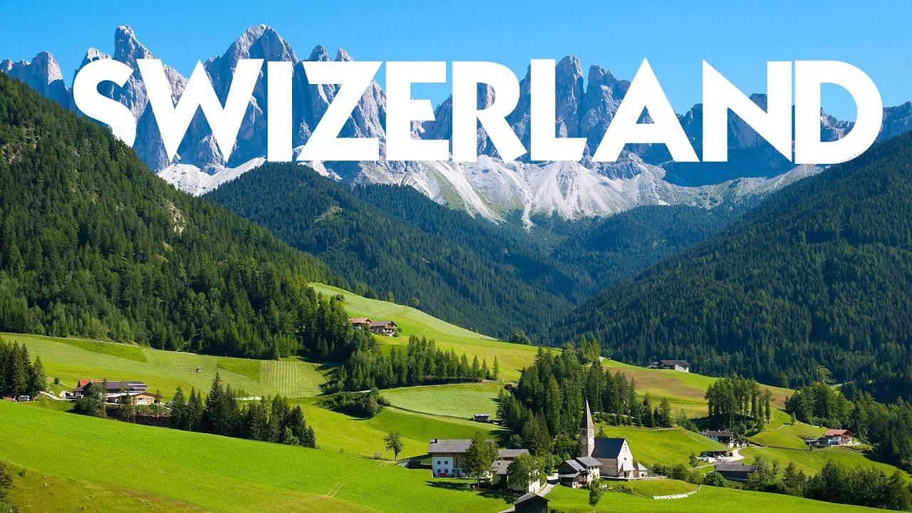 Switzerland in 8K ULTRA HD - Heaven Of World (60 FPS)