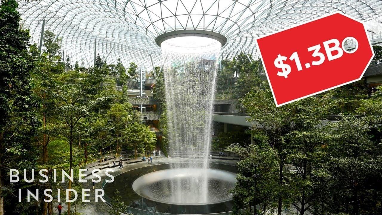 Inside Singapore Changi Airport's New $1.3 Billion Lifestyle Hub