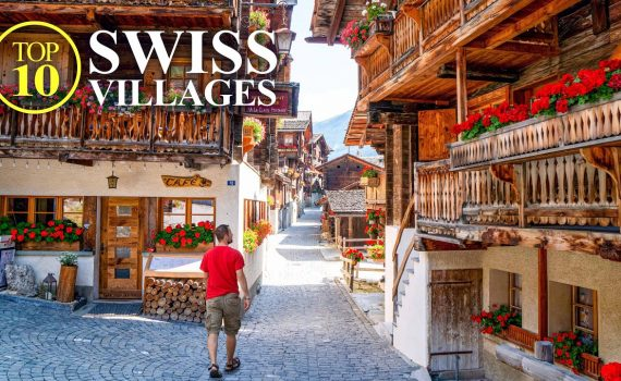 Top 10 Villages of SWITZERLAND – Most beautiful Swiss Towns – Best Pla...